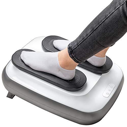 GRIDINLUX. Ejercitador de Piernas TRAINER LEGS. Gimnasia Pasiva, Masajeador Mando a Distancia, Masaje de Pies, Altura Regulable, Intensidad Ajustable, Fácil de usar