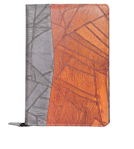 Amazinghind Leatherette Material Professional File Folders for Certificates, Files and folders for documents, Document Folder for certificates with 20 Leafs (Size- B4, Color-Grey Brown)