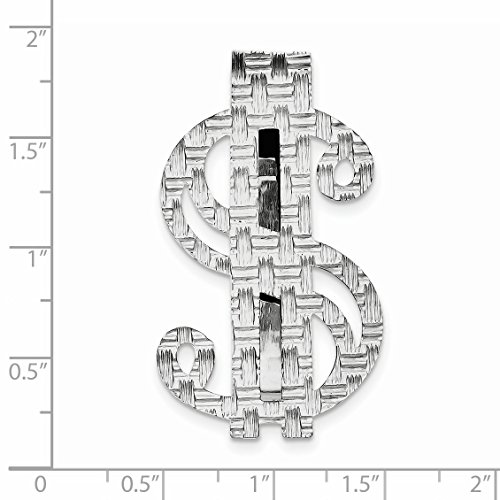 Dollar Clip Money 925 925 Sterling Sign Silver Sterling BxFH0wqB
