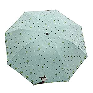 Fox Yingke Desgin paraguas parasoles de exterior diseño de Caperucita diseño estampado día y día de sol