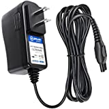 T-Power Ac Adapter Rapid Charger (5ft) for Philips Norelco Multigroom Pro All-in-One Grooming Trimmer(QG3200 QG3300 series) Sensotouch Speed-xl Smarttouch Cool-Skin QT4070 QG3380 QG3360 HQ8505 Shaver