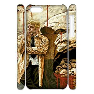 Constantine ROCK057495 3D Art Print Design Phone Back Case Customized Hard Shell Protection Iphone 5C
