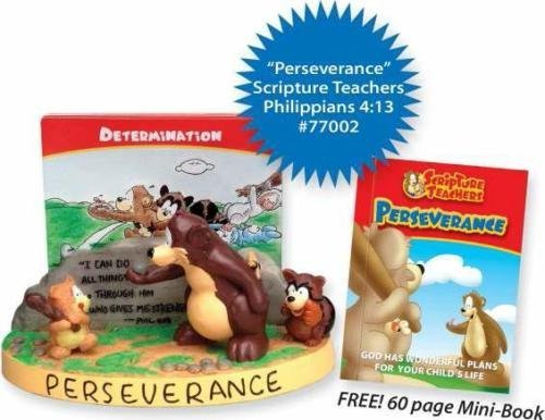 Scripture Teachers: Perseverance (Scripture Card Holder for Kids) by Lighthouse christian Products Co. ()