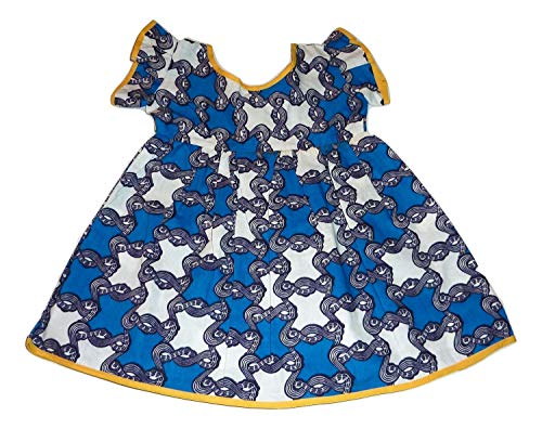African Dress for Little Girls – African Print Dress for Baby Girl - 12 Months by ExploreAfrica44