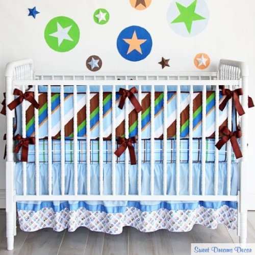 Caden Lane Boutique Collection Tanner Crib Bedding Set by Caden Lane   B004YLAFCY