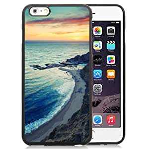 DIY TPU Phone Case Sunset Seascape Sky On Fire iPhone 6 Plus 5.5 inch Wallpaper