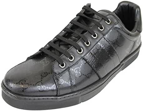 Gucci Men's Black Lace-up Trainer Fashion Sneakers 227988 1000