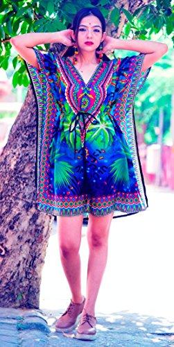 kaftan dress mini - 9