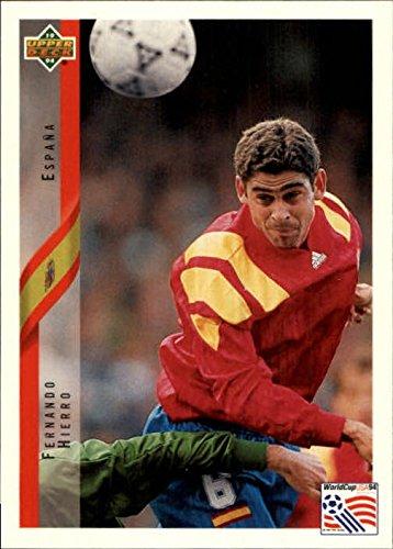 1994 Upper Deck World Cup Contenders Spanish #159 Fernando Hierro - NM-MT