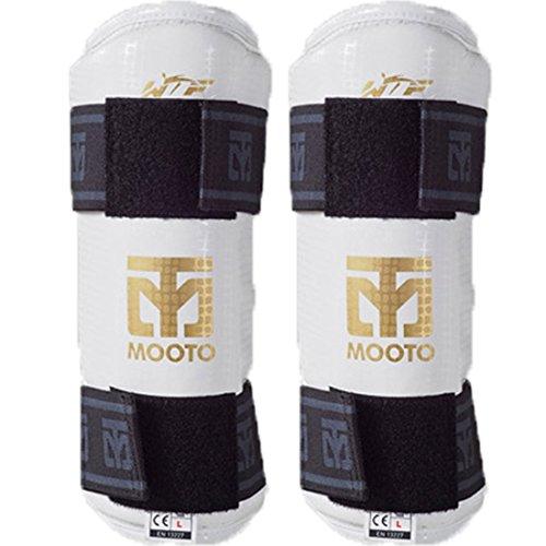 Mooto Korea Taekwondo Extera Forearm Protector WTF Approved Protection Guard Martial Arts MMA Kickboxing Karate Match…