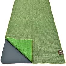 Dusky Leaf Zeroslip Hot Yoga Towel