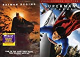 The Full DC Comics Cycle - Batman Begins & Superman Returns 2-DVD Set