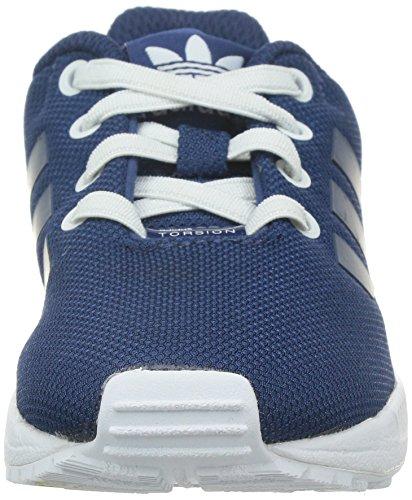adidas Unisex Baby ZX Flux EL I Sneaker Blau