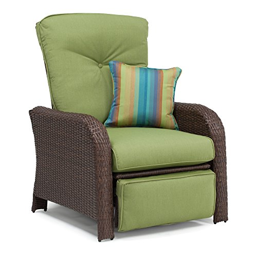 la-z-boy-outdoor-sawyer-resin-wicker-patio-furniture-recliner-cilantro-green-with-all-weather-sunbre