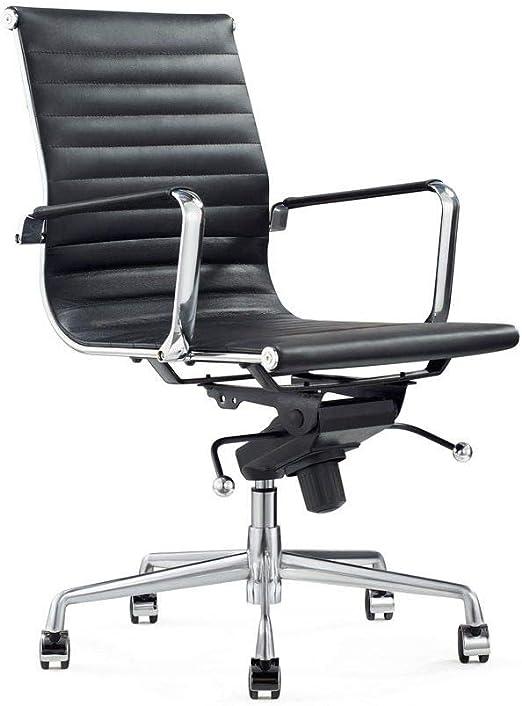 Vivol Design Schreibtisch Stuhl Valencia Schwarz Burostuhl Ergonomisch Leder Burostuhl 150 Kg Drehstuhl Mit Rollen Armlehnen Buro Stuhle Amazon De Kuche Haushalt