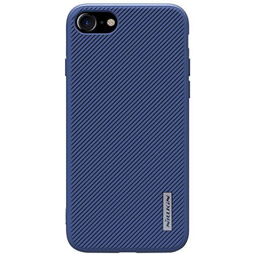 NILLKIN ETON Phone Tasche Hüllen Schutzhülle - Case für iPhone 7 4.7 Twill Grain PC TPU Hybrid Tasche Hüllen Schutzhülle - cover with Built-in Magnetic Sheet - blau