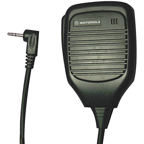Motorola 53725 Remote Speaker Microphone (Black)