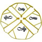 UUMART DJI Mavic Pro Quadcopter Drone Spare Parts Propeller Guard Set-Orange