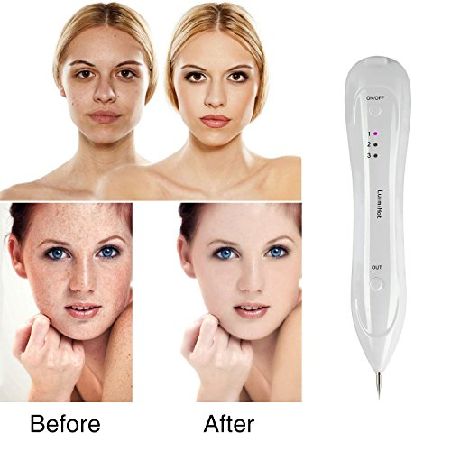 LuimiHot-Mole-Removal-Pen-Portable-USB-Rechargeable-Professional-Beauty-Skin-Pen-for-Freckles-Dark-Spot-Nevus-Tattoo-Dot-Mole-Removal-with-Replaceable-Needles