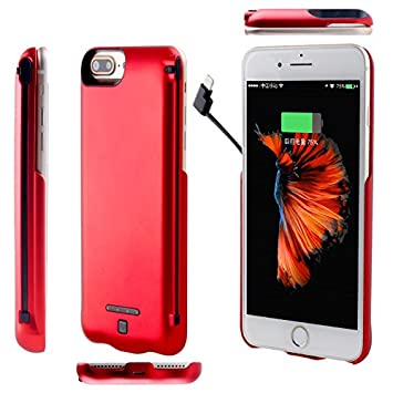 coque batterie iphone 7 rouge