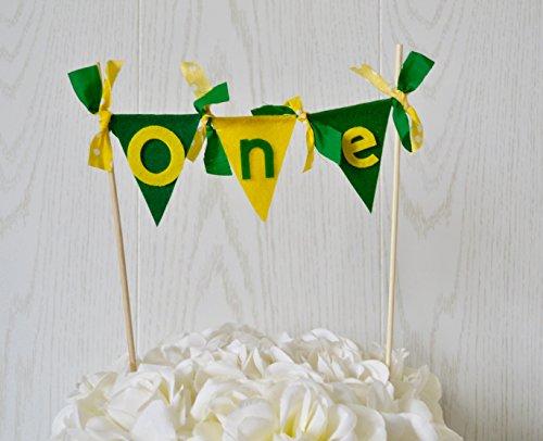 John Deere Birthday Cake Topper -