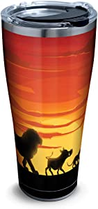 Tervis Disney - Lion King Silhouette Stainless Steel Insulated Tumbler with Lid, 30 oz, Silver