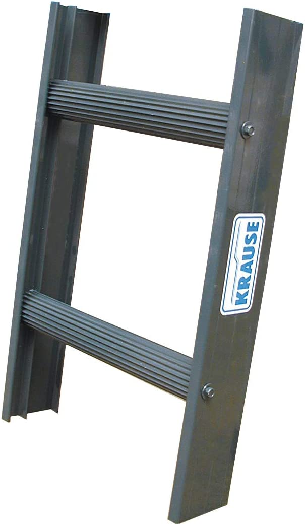 KRAUSE Escalera deshollinadora de aluminio antracita, 14 peldaños: Amazon.es: Bricolaje y herramientas