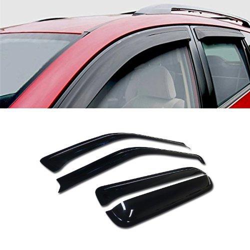 VXMOTOR for 97-01 Honda CR-V 4 Door Sedan Models Sun/RAIN/Wind Guard Smoke Vent Shade Deflector Window Visor 4PCs 4 Door Sedan Models