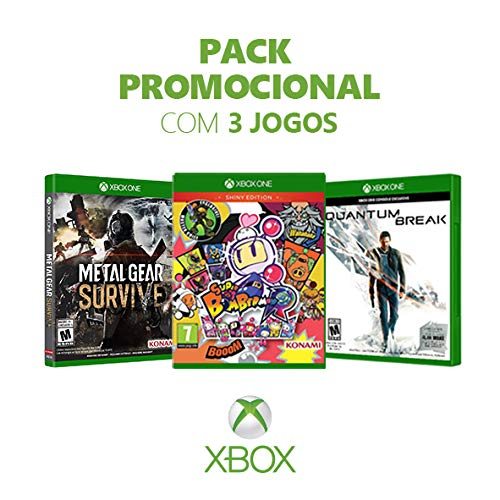 Kit Game Metal Gear Survive + Super Bomberman R + Quantum Break - Xbox One