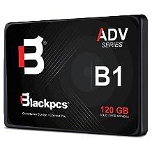 Blackpcs Unidad De Estado Solido Ssd 120Gb Black Pcs As2O1-120 Sata 6Gb/S