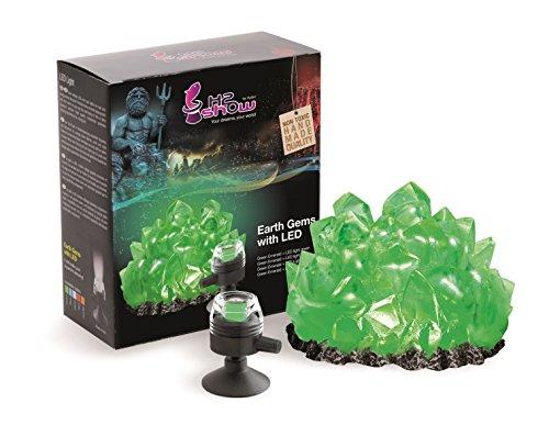 Hydor H2Show Earth Gem, Green Emerald, Green LED ()