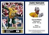 Carson Wentz Rookie Card RC 2015 ACEO North Dakota State QB