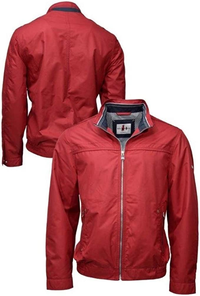 NEW CANADIAN Herren Jacke Rot rot: : Bekleidung