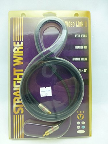 Straightwire Video Link II 2.0 Meter Composite Video / Digital Audio Cable NIB