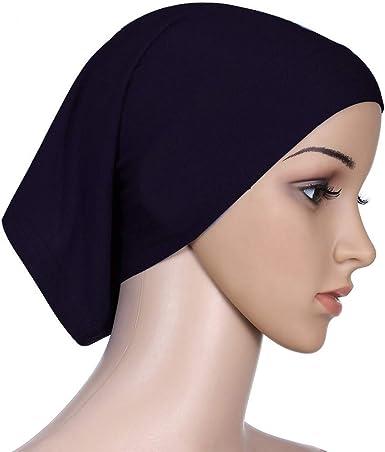 Womens Muslim Hijab Beanie Cap Islamic Under Scarf Turban Head Wrap Cover Hat