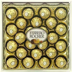 Diamond Rocher Ferrero (Ferrero Rocher 24 Pieces 300g)
