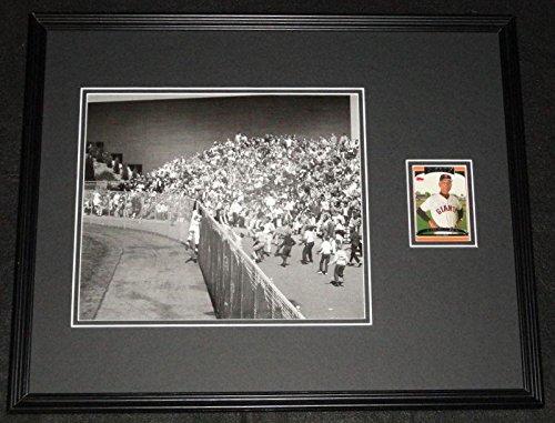 Autographed Felipe Alou Photo - 1962 World Series Framed 16x20 Display - Autographed MLB Photos