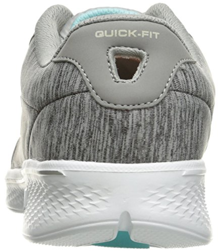 Skechers Damen Go Walk 4-Serenity Laufschuhe Gray/Blue Heather