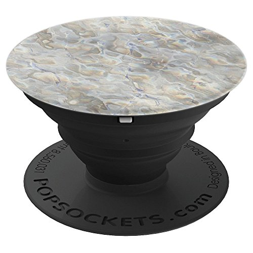 Mother of Pearl Gem Print Pattern Trippy Illusion Luxury - PopSockets Grip and Stand for Phones and (Mother Chicks)