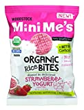 yogurt bites organic - Woodstock Mini Me's Organic Rice Bites, Strawberry Yogurt, 2.1 Ounce