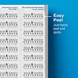 Avery Glossy Crystal Clear Return Address Labels