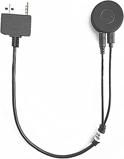 Bluetooth Aux Adapter Compatible for Kia Hyundai Wireless AMI MMI to Music Streaming Media Interface Audio Receiver for Accent Genesis Coupe Sonata Santa Fe Tucson Soul Sedona