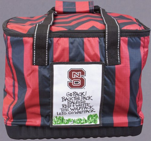 Collegiate Soft Sided Insulated Cooler (NC State Wolfpack)