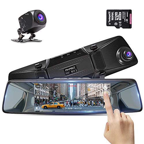 AKASO Mirror Dash Cam Car Camera