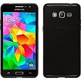 Silicone Case for Samsung Galaxy Grand Prime - transparent black - Cover PhoneNatic + protective foils