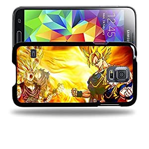 Case88 Designs Dragon Ball Z GT AF Super Saiyan Son Goku Son Gohan Protective Snap-on Hard Back Case Cover for Samsung Galaxy S5 by supermalls