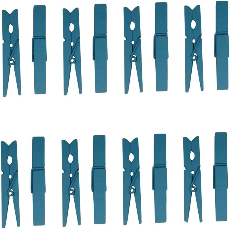 "40 Count Wood Clothespins 2 7//8/"" Large Laundry Spring Wooden Clothes Pins Crafts"