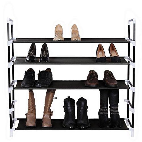 Songmics 5 Tiers 25 Pairs Shoe Rack ...