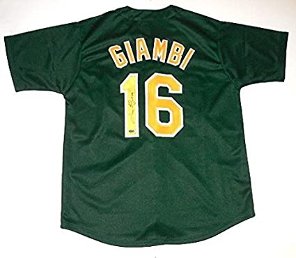 Image Unavailable. Image not available for. Color  Jason Giambi Autographed  Jersey ... 435b463d9b3
