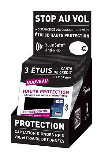 Rfid Etui Données Noir Bancaires Bancaire Haute Anti Votre Carte Protection Bong De Des PO74q4d